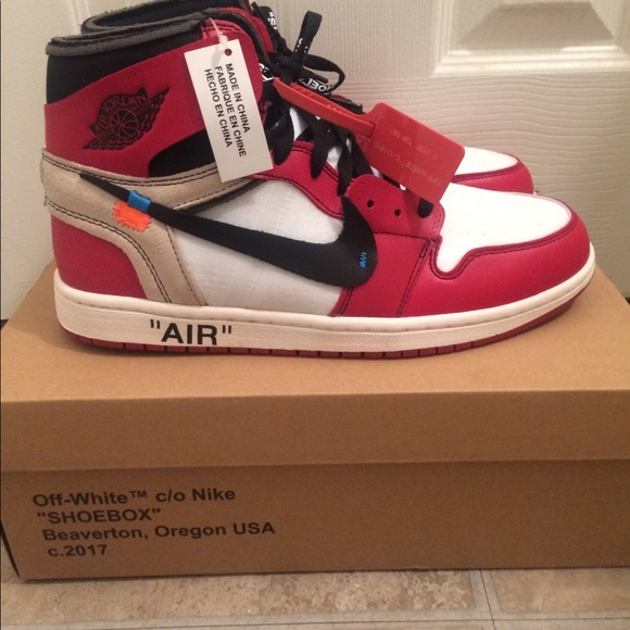 c876da4e595e OFF WHITE AIR JORDAN 1